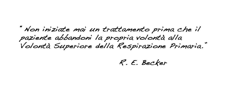 Osteopatia Biodinamica, R. E. Becker.