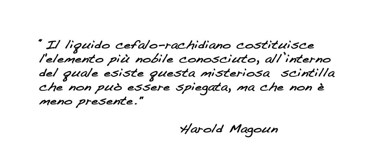 Osteopatia Biodinamica, Harold Magoun.